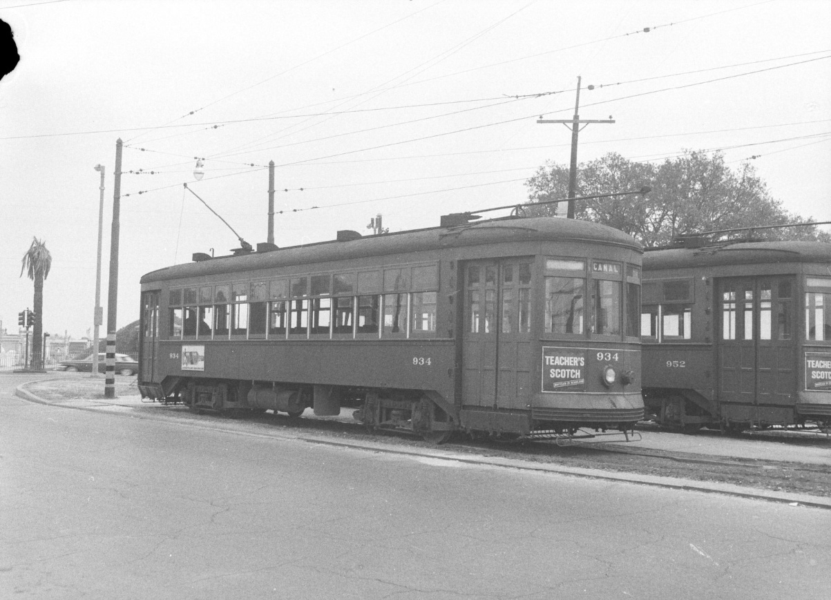 New Orleans, Perley Thomas 4-axle motor car # 934