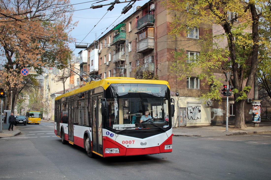 Одесса, БКМ 321 № 0007