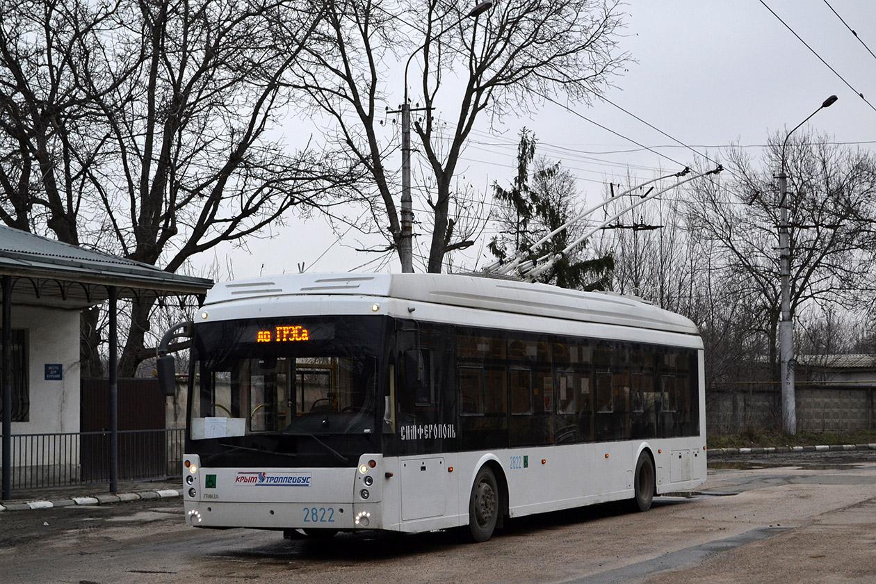 Крымский троллейбус, Тролза-5265.03 «Мегаполис» № 2822