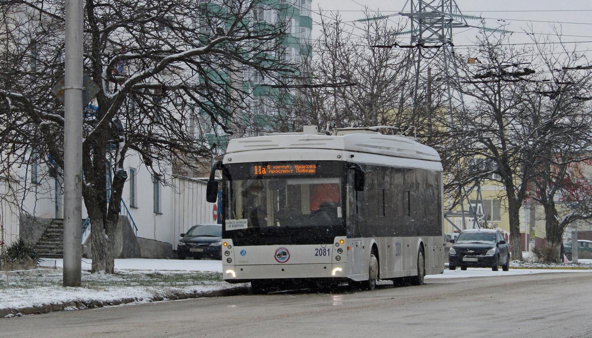 Севастополь, Тролза-5265.03 «Мегаполис» № 2081