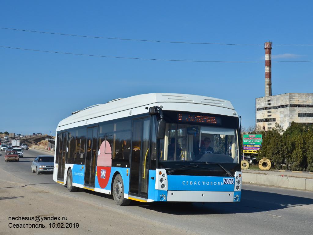 Севастополь, Тролза-5265.03 «Мегаполис» № 2075