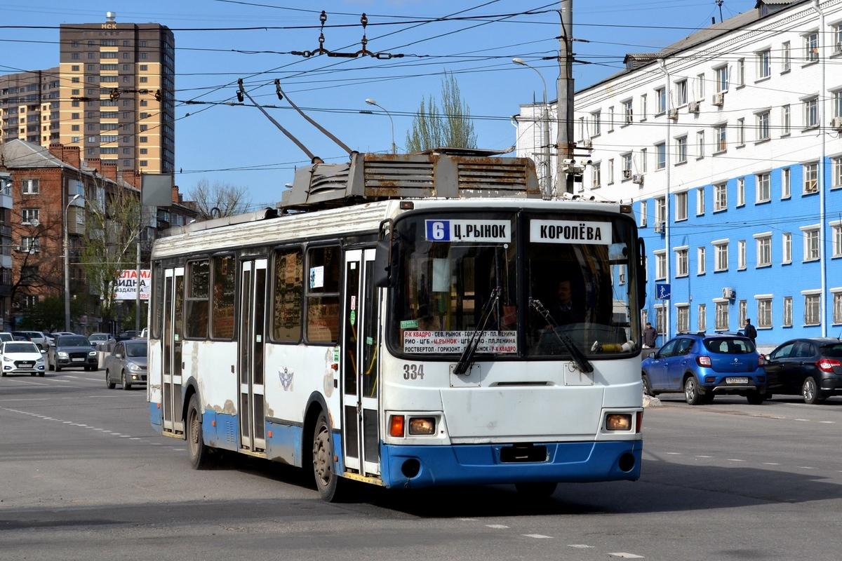 Ростов-на-Дону, ЛиАЗ-5280 № 334