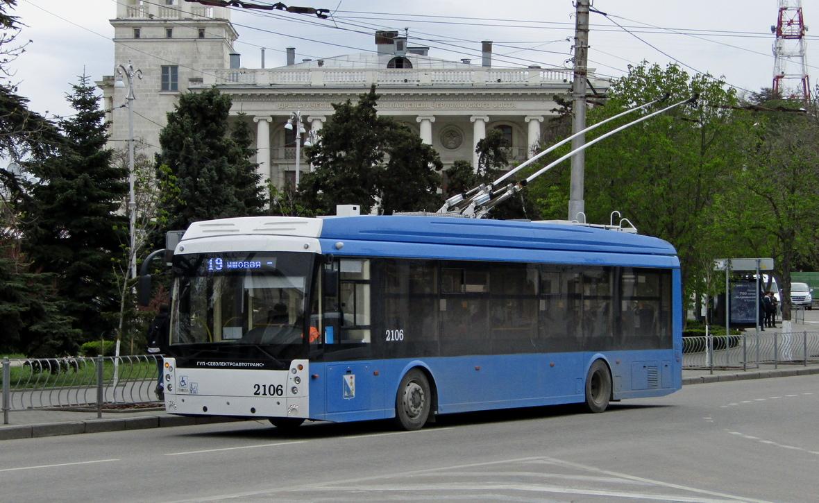 Севастополь, Тролза-5265.02 «Мегаполис» № 2106
