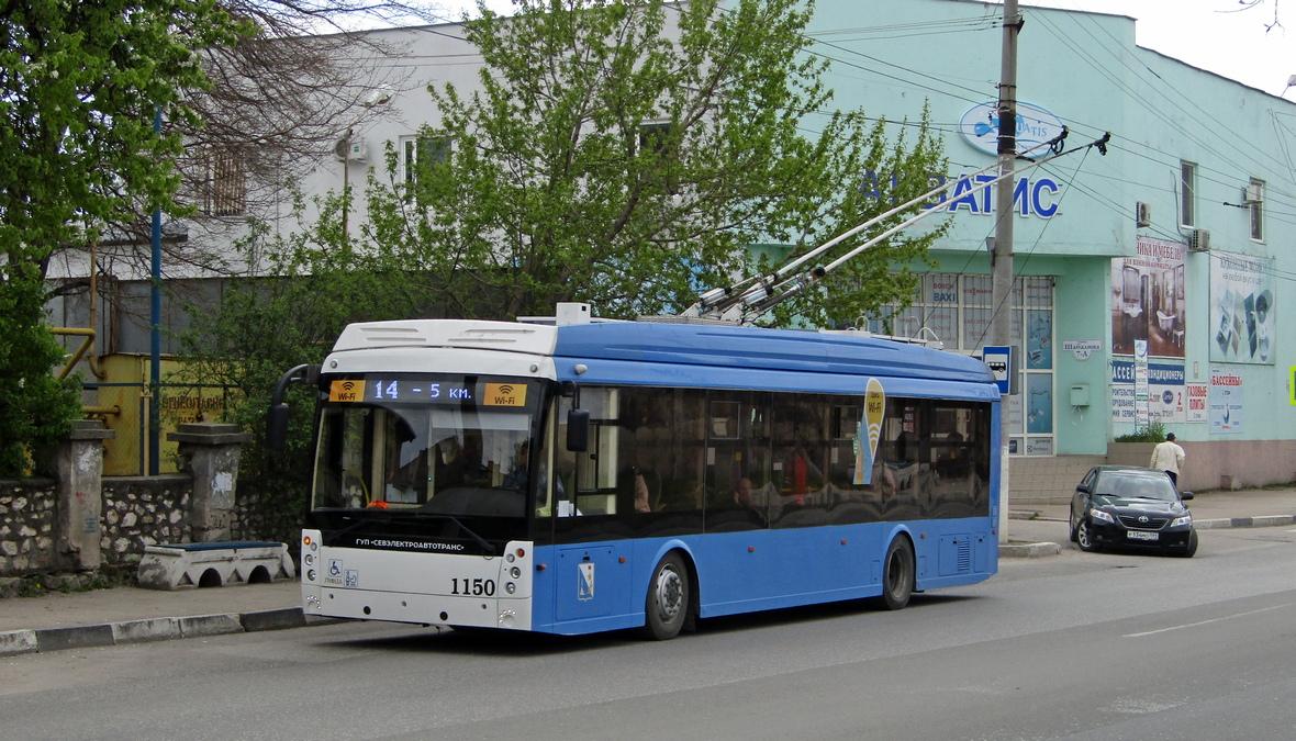 Севастополь, Тролза-5265.02 «Мегаполис» № 1150