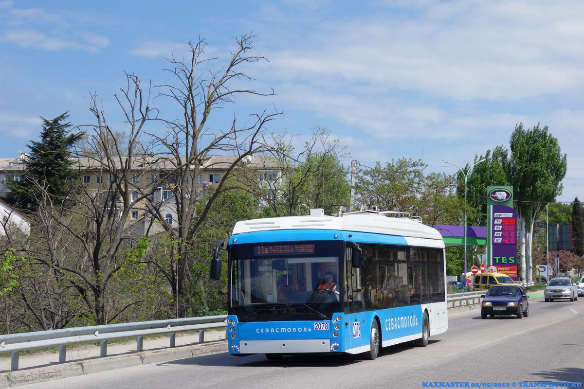Севастополь, Тролза-5265.03 «Мегаполис» № 2078