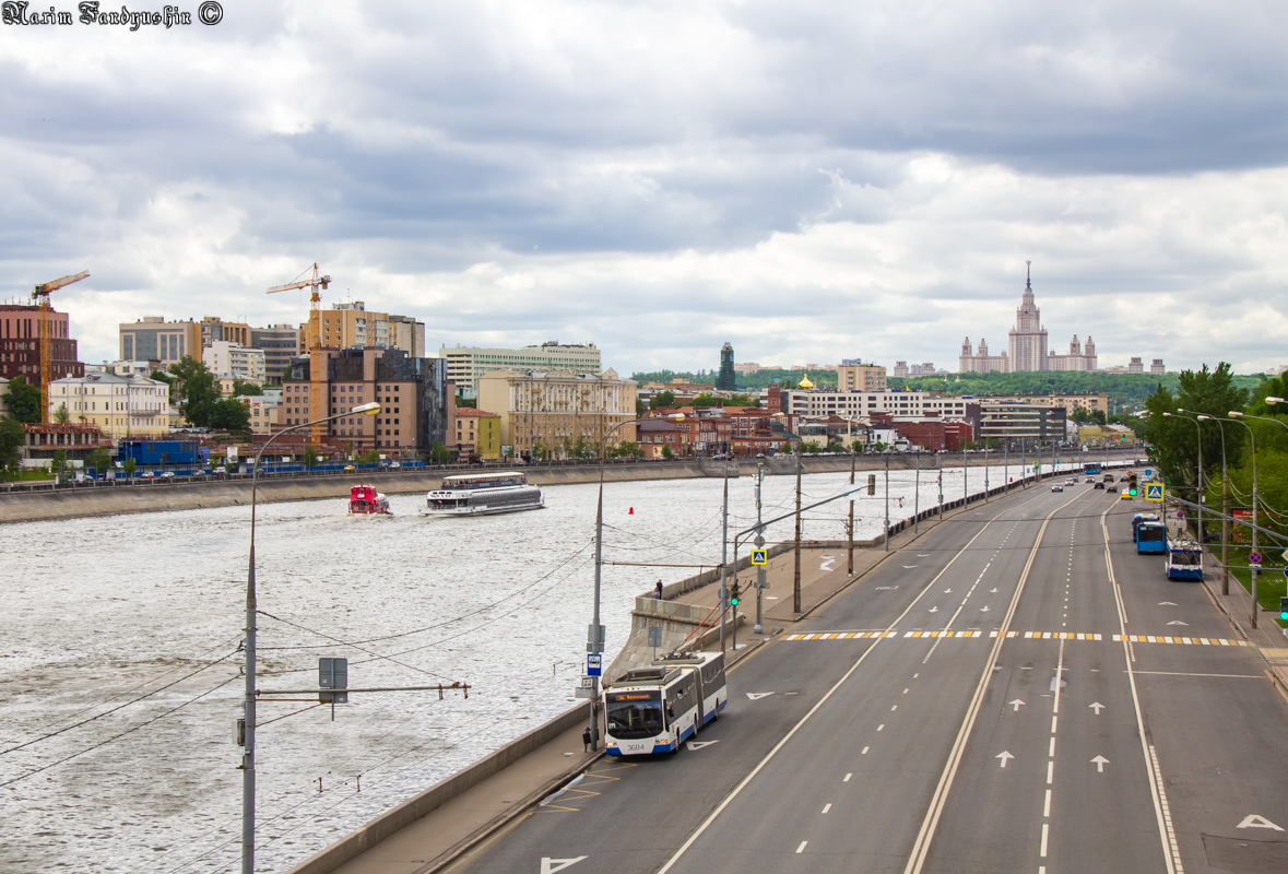 Moscow — Trolleybus lines: Western Administrative District