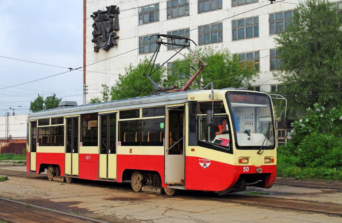 публикует фото трамваев в туле полках магазинов