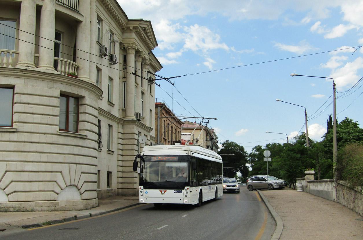 Севастополь, Тролза-5265.02 «Мегаполис» № 2066