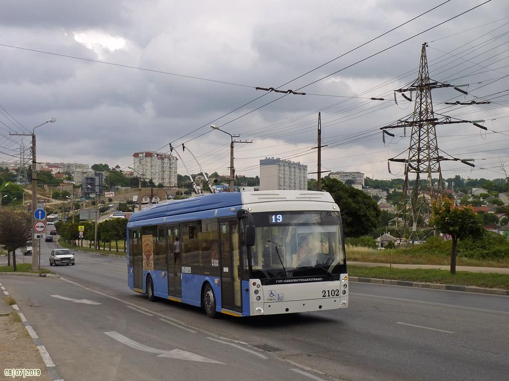 Севастополь, Тролза-5265.02 «Мегаполис» № 2102