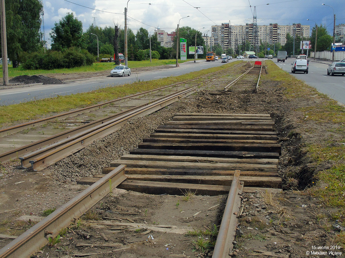 Saint Petersburg — Track repairs