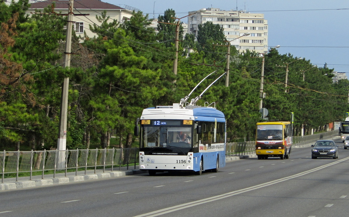 Севастополь, Тролза-5265.02 «Мегаполис» № 1156