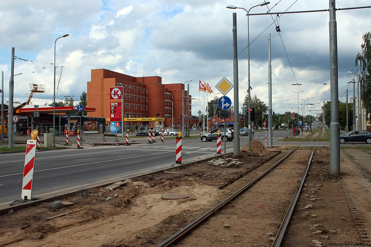 Daugavpils — Tramway Lines and Infrastructure