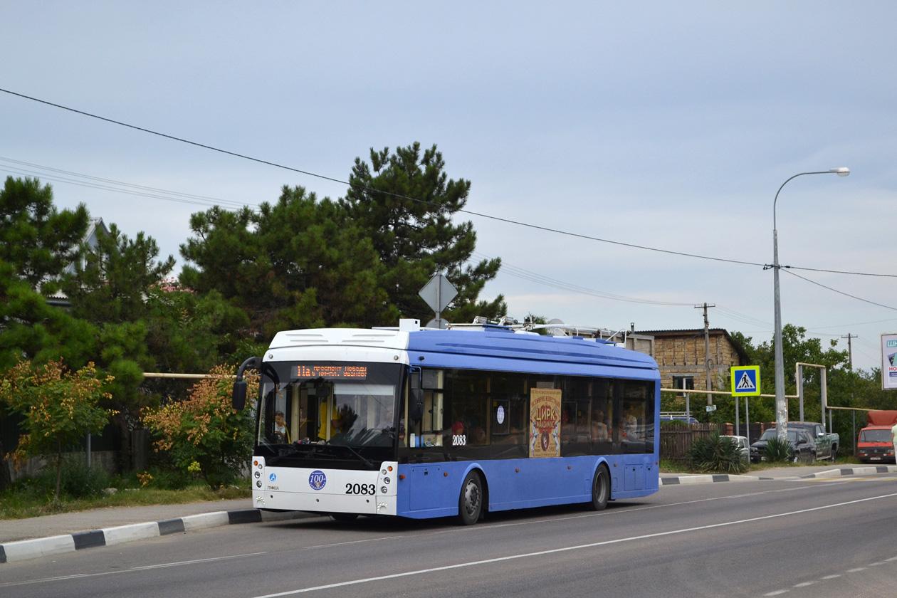 Севастополь, Тролза-5265.03 «Мегаполис» № 2083