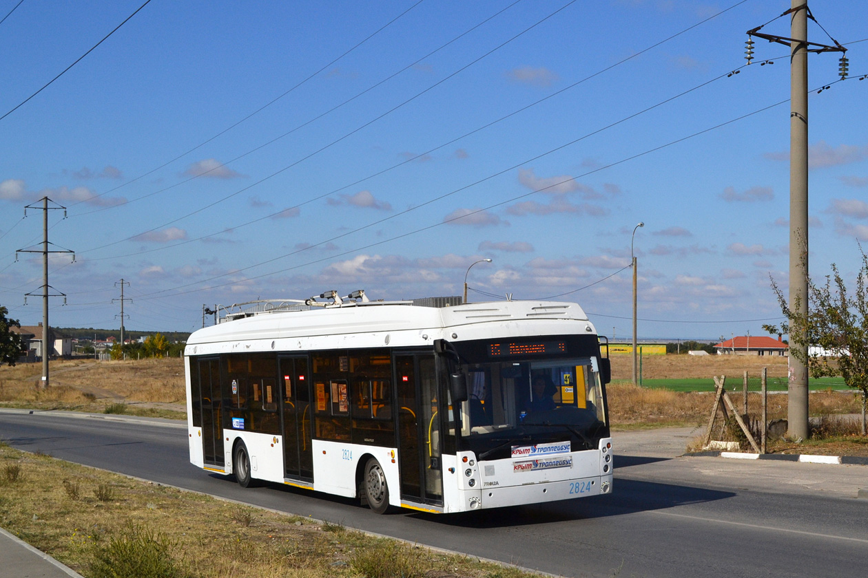 Крымский троллейбус, Тролза-5265.03 «Мегаполис» № 2824