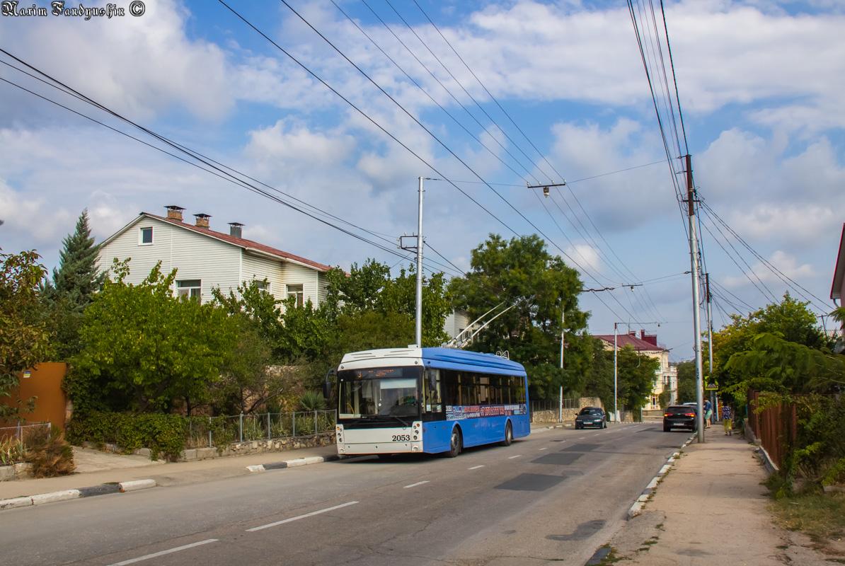 Севастополь, Тролза-5265.02 «Мегаполис» № 2053