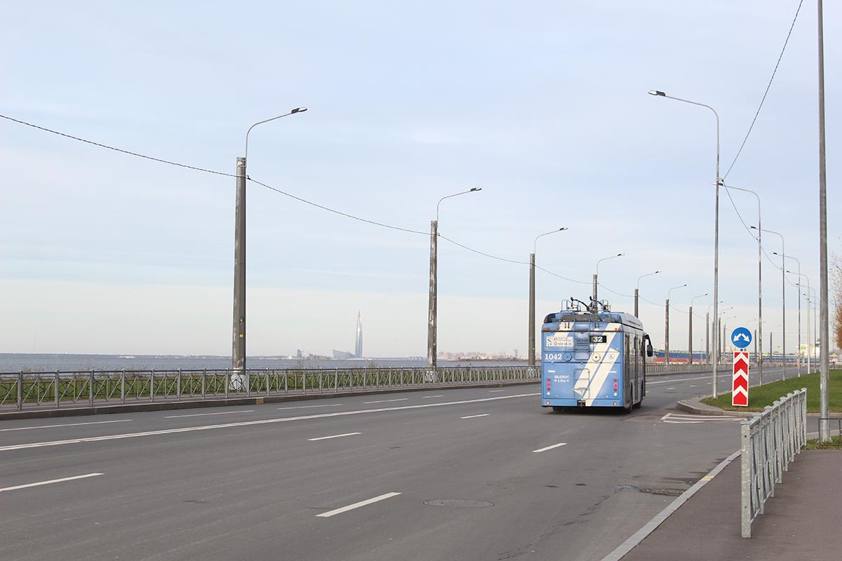 Санкт-Петербург — Троллейбусные линии