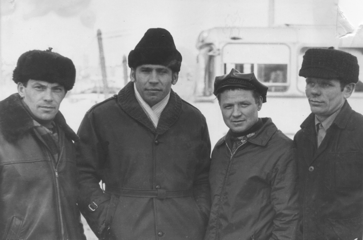 Electric transport employees (Murmansk)