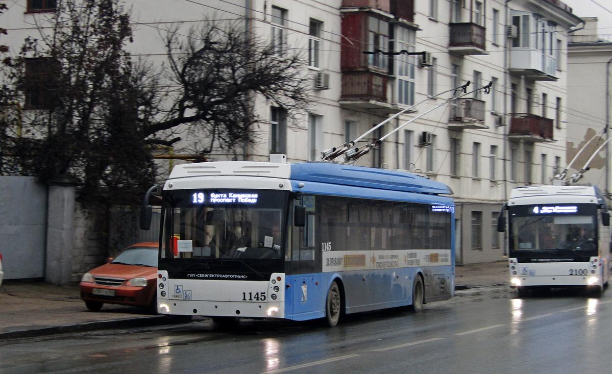 Севастополь, Тролза-5265.02 «Мегаполис» № 1145