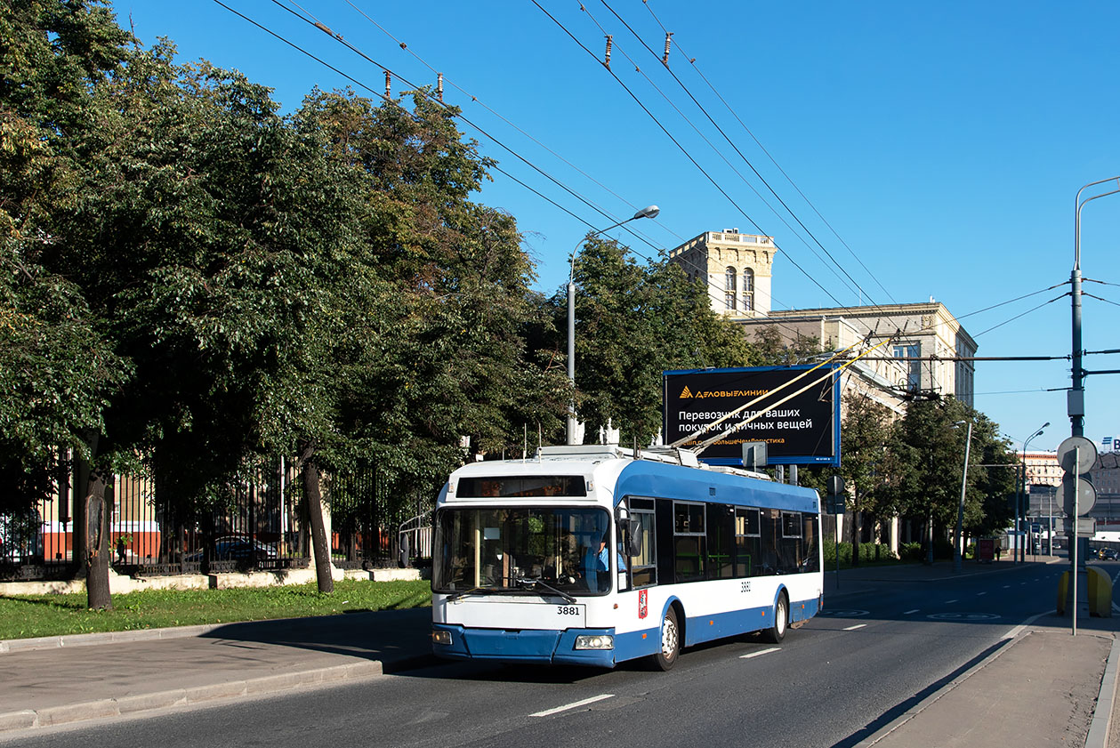 Москва, СВАРЗ-6235.01 (БКМ 32100М) № 3881