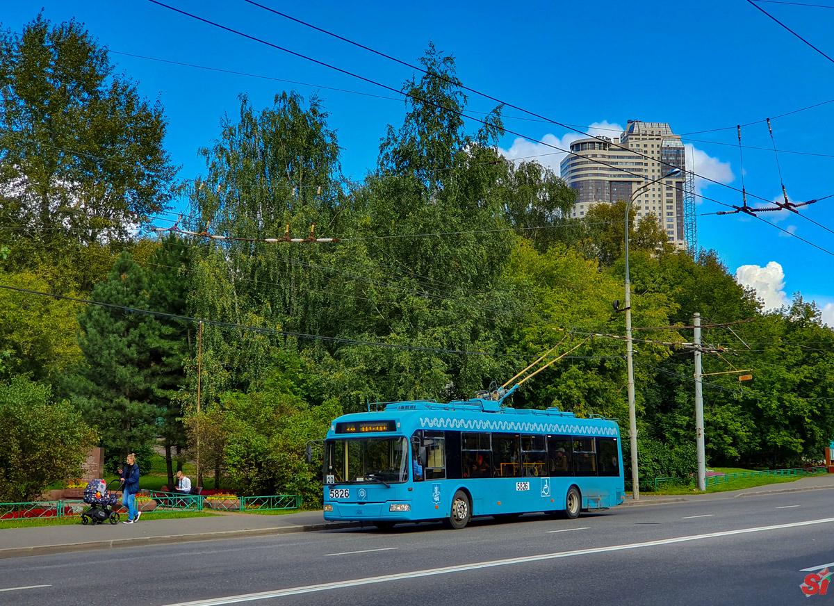 Москва, БКМ 321 № 5826