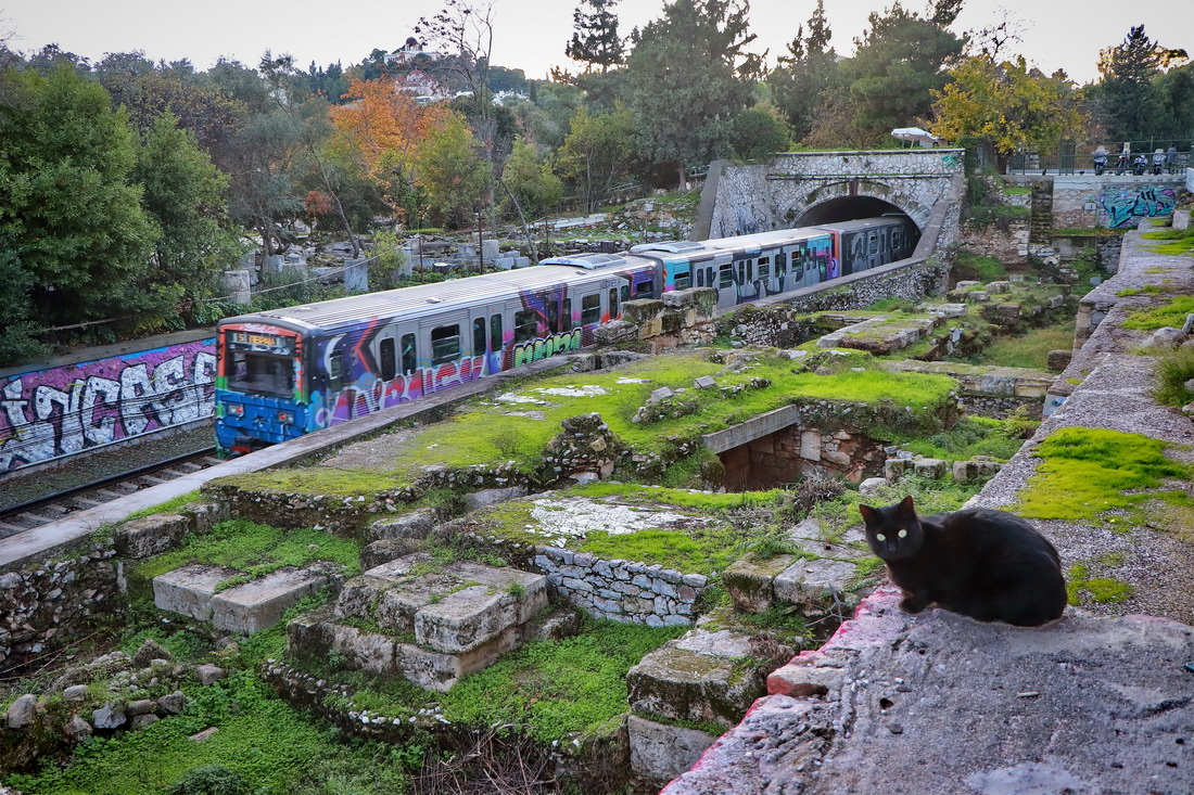 Athens — Metro; Transport and animals (Athens)