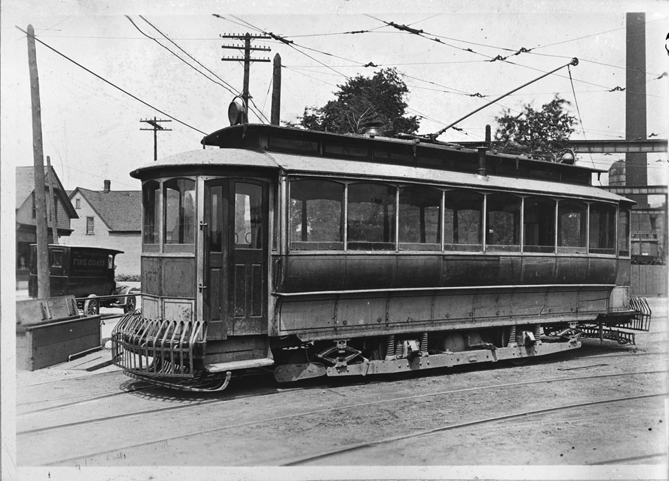 Detroit, Stephenson 2-axle motor car # 377