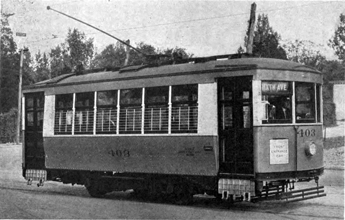 Knoxville, Cincinnati 2-axle motor car # 403