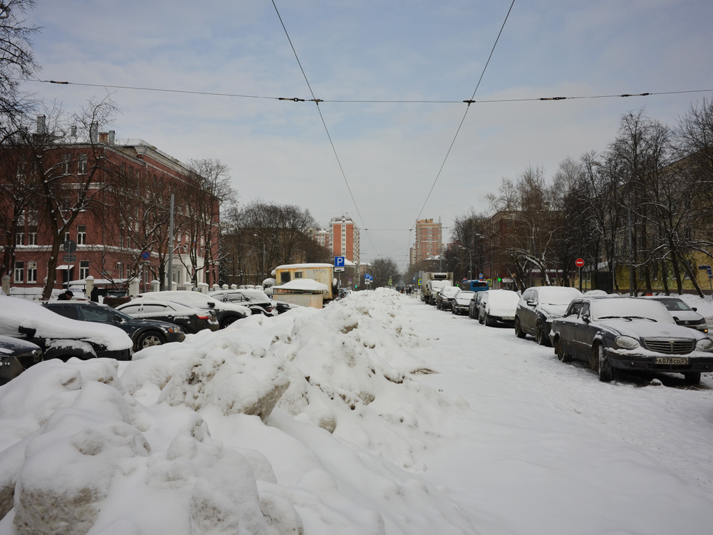 Moscow — Tram lines: [3] Strogino network — north