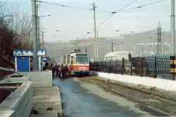 Vladivostok, 71-132 (LM-93) # 319; Vladivostok — Closed routes and the remains of the tram infrastructure