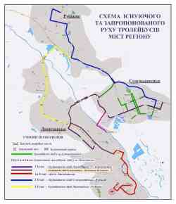 Lisichansk — Route maps; Severodonetsk — Maps
