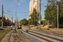 Kyiv — Reconstruction of rapid tramway line: non-rapid section
