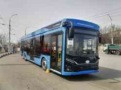 Saratov — Trolleybus test drives